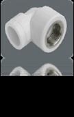 Pro Aqua угольник с внутренней резьбой 32x1/2